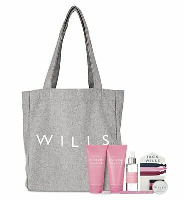 Jack Wills Overnight Toiletries Bag Gift Set