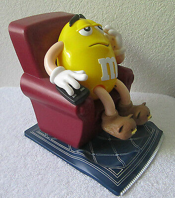 Large M&M Collector Yellow Candy Dispenser