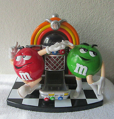 m & m's Collector Jukebox Large Candy Dispenser