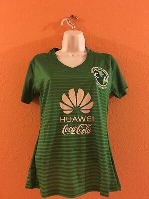 Club America Third Green Jersey 2017 Woman's Size Large