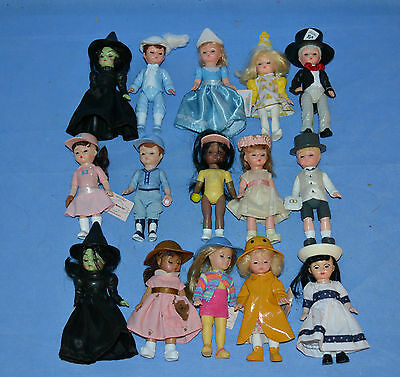Assorted Lot Of 15 Madame Alexander Dolls/mcdonalds/various Dolls