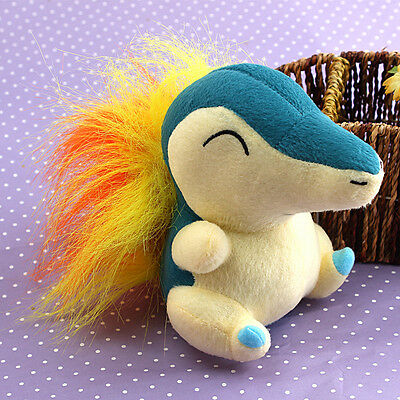 Cute Nintendo Cyndaquil Plush Soft Doll Stuffed Animal Game Collect Kids Toy 6''