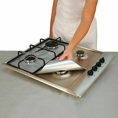 Non-stick Surface Furnace Protector Stove Gas Protection Mat Pad Clean Liner