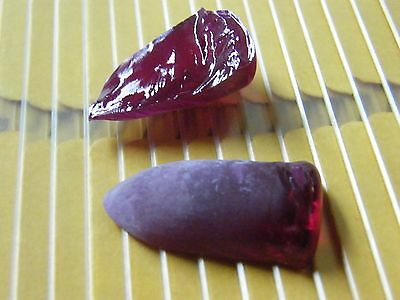 102 Cts Lab Grown Corundum Flame Fusion Rough Red Ruby Color