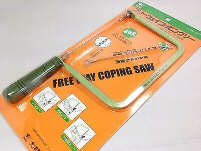 Japanese PICUS Free Way Coping Saw Cuts in Any Direction CS-178 Japan