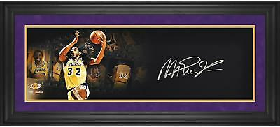 Magic Johnson Lakers Signed 10x30 Film Strip Photo-Limited Edition of 25