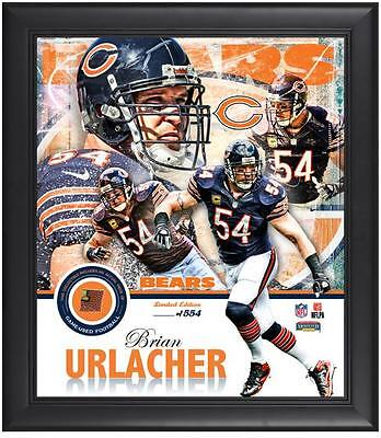 Limited Edition NFL Chicago Bears Brian Urlacher Framed 15x17 Photo Collage