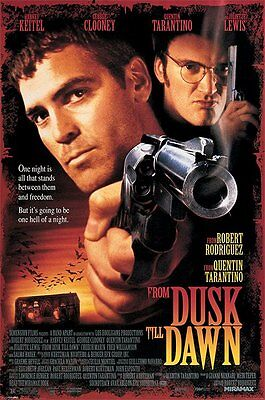 From Dusk Till Dawn - Brand New Licesned Poster - Quentin Tarantino