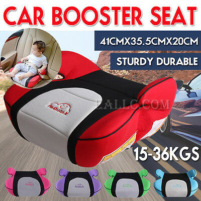 Kids Car Booster Seat Safe Sturdy Baby Children Child Fit 3-12 Years 15-36kg NEW