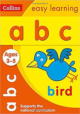 ABC Ages 3-5: New Edition (Collins Easy Learning Preschool)  #EDU