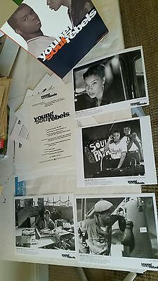 YOUNG SOUL REBELS British film institute  4 press kit incl 4 photos I COMBINE PP