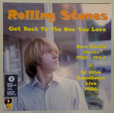 The Rolling Stones: Get Back To The One You Love (multi-colored vinyl)