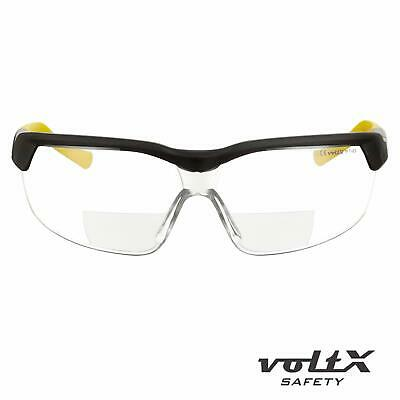 voltX GT Adjustable BIFOCAL Reading Safety Glasses Clear, Smoke & Yellow lens
