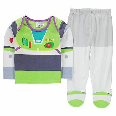 Official Disney Baby Buzz Lightyear Pyjamas Outfit Set Costume 9-12 Months