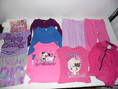 Lot of Girls 7-8 Cloths- Faded Glory, Extreamly Me, 1989 Place,Danskin  ( Lot 3)