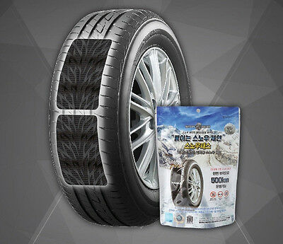 4pcs Snow Patch Chains Tire  Winter Type Easy Fit Wheel Size Van Driving Pair