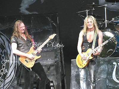 Whitesnake Concert Photo 8X10 Of Reb Beach & Doug Aldridge