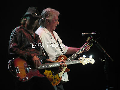 Bad Company Concert Photo 8X10 Of Mick Ralphs & Todd Ronning