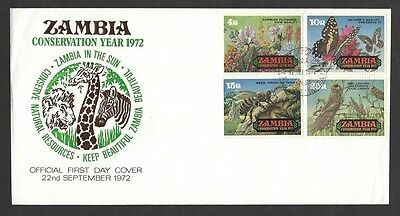 Zambia 1970-77 FDC collection (18)