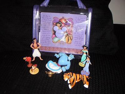 Disneyland Paris Aladdin Princess Jasmine Genie Abu Playset Figures Disney