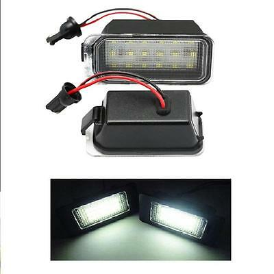 Ford S-Max (2006-) 18 SMD LED Number Plate Upgrade Light Units 6000K White