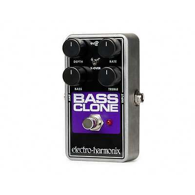 Electro Harmonix Bass Clone Chorus Effects Pedal for Bass Guitar