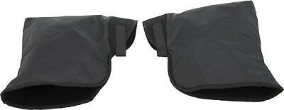 SPI Snowmobile Heavy Duty Nylon Handlebar Gauntlets Black Universal SM-16098