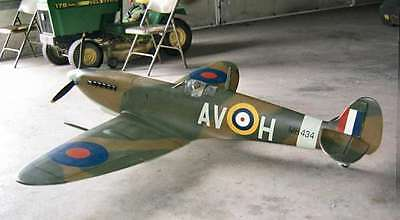Rare Pica 1/5 Scale Spitfire Radio Controlled Kit