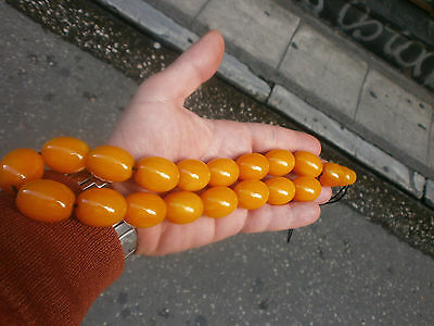 UNIQUE YOLK AMBER BAKELITE ANTIQUE 120 grams