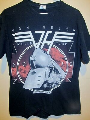 2012 Van Halen tour shirt - A Different Kind of Truth - Adult Medium