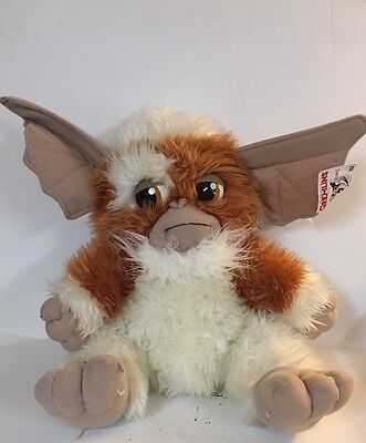 "Vintage Gremlins Gizmo Plush Stuffed Animal 14"" Tall New With Tags Nanco"