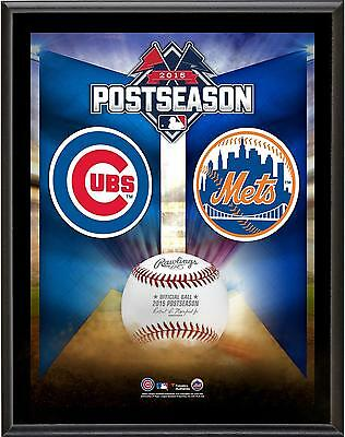 New York Mets vs. Chicago Cubs 2015 MLB National League Item#5948277