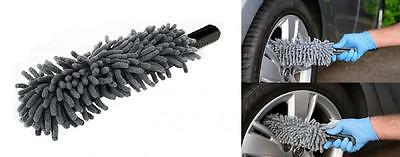 Microfibre Car Wheel Cleaning Brush Flexible Soft Head For All Wheel Types (136)