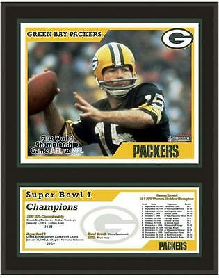 """Green Bay Packers 12"""" x 15"""" Sublimated Plaque Super Bowl I"""