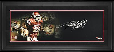 Limited Edition Autographed A Peterson OK Sooners Framed 10x30 Filmstrip Photo