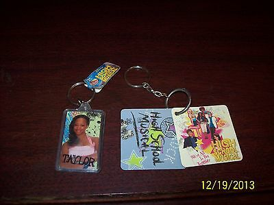 """Lot Of Two Disney """" High School Musical """" Key Chains"""
