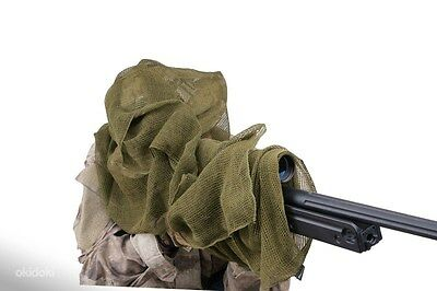 Russian Army Tactical SNIPER SCARF Mesh Shemagh Gear Head Wrap Olive army issue