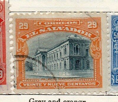 El Salvador 1912 Early Issue Fine Used 29c. 120589