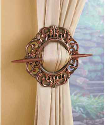Set Of 2 Decorative Curtain Holdbacks, Window Curtain Tiebacks ...