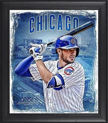 "Kris Bryant Chicago Cubs Framed 15"" x 17"" Playmakers Collage"
