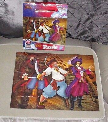 FAMOUS PIRATES OF THE WORLD 45 piece jigsaw - complete