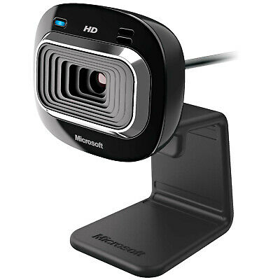 MICROSOFT LifeCam HD-3000, Webcam, Schwarz