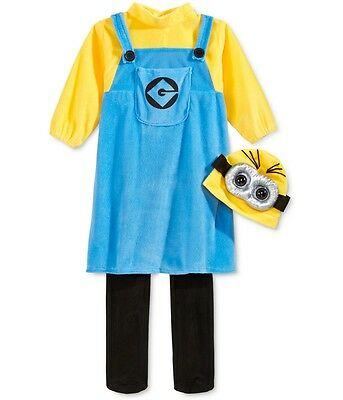 Illumination Entertainment Girls Despicable Me Complete Costume blueyellow 2T