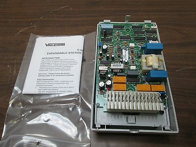 Valcom V-9940 Expandable Station Level Page Adapter - New in Box!