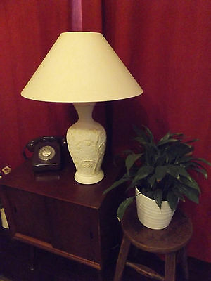 LARGE TABLE LAMP WITH SHADE ---Must See