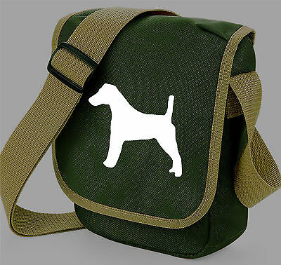 Fox Terrier Bag Silhouette Messenger Shoulder Bags Handbags Xmas Gift