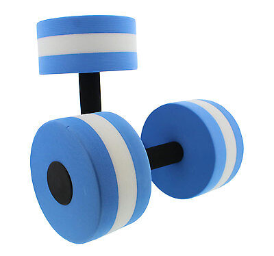 Get Out!™ Pool Dumbbells Set of 2 for Water Aerobics Exercise Chlorine Resistant