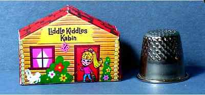 Dollhouse Miniature  Liddle Kiddles Kabin  1960s Kiddles diorama   girl toy 1:12