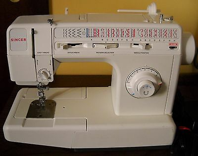 VINTAGE SINGER MODEL 40C 40 Stitch Functions Sewing Machine With Awesome Singer 5050c Sewing Machine Manual