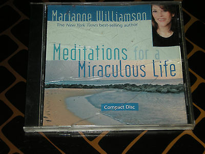 Meditations for a Miraculous Life CD by Marianne Williamson - 2007 -